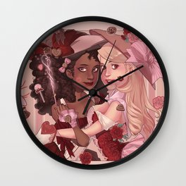 Candy Witches Wall Clock