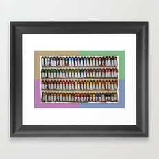 Any color you like Framed Art Print