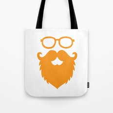 Hipster Beard Tote Bag