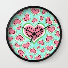 Watermelon Love... Wall Clock