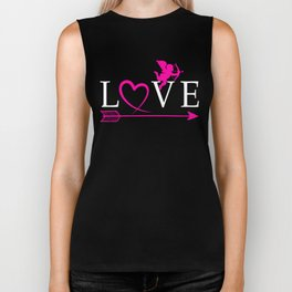Love, Cute and Perfect Valentine's day Gift Shirt for Boyfriend, Girlfriend,  Wife, Husband, Sweethe Biker Tank