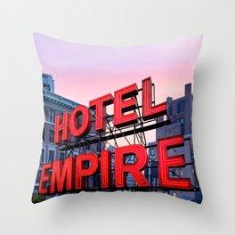 Hotel Empire Throw Pillow