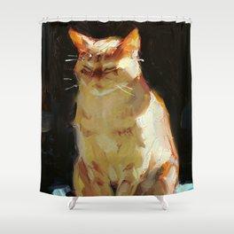 Sun Cat Shower Curtain