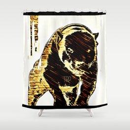 Pit Bull Models: Khan 01-01 Shower Curtain