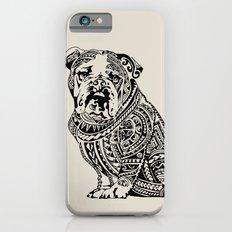 Polynesian English Bulldog iPhone 6s Slim Case