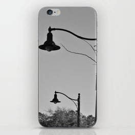 Street Lamps iPhone Skin