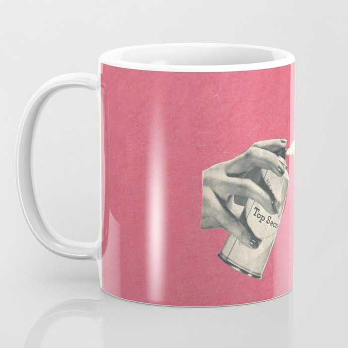 Top Secret (spray) Coffee Mug