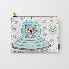 I'm from otter space Carry-All Pouch
