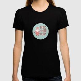 Stitched Santa X T-shirt