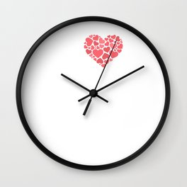 I Love Inventing Creativity Engineering T-Shirt Wall Clock