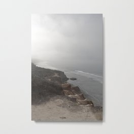 Foggy Ocean Morning Metal Print
