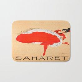 Vintage poster - Saharet Bath Mat