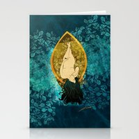 sailing Stationery Cards featuring Sailing by Elsa Herrera-Quinonez