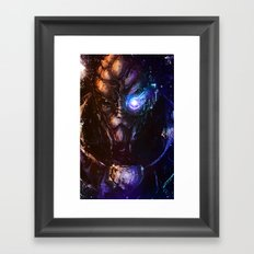 I'm in the middle of some calibrations Framed Art Print