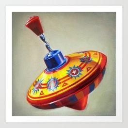 Spinning Top Art Print