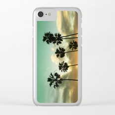 Palm Sunday Clear iPhone Case