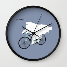 Negative Ghostrider. Wall Clock