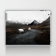 Sheep in the highlands #adventure Laptop & iPad Skin
