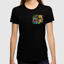 Australian native flowers wreath T-shirt