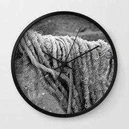 Cotton Textures Wall Clock