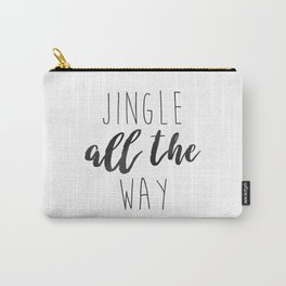 Jingle Bells | Holiday Minimalism Carry-All Pouch