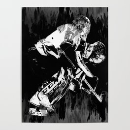 Ice Hockey Goalie Poster