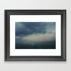 Utah Skies 2 Framed Art Print