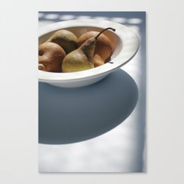 Organic Pears Canvas Print