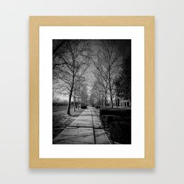 Far & Between Framed Art Print