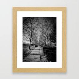 Far & Between Framed Art Print