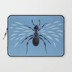 Weird Abstract Flying Ant Laptop Sleeve
