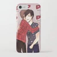 danisnotonfire iPhone & iPod Cases featuring PHAN HUG (full size) by Alliandoalice
