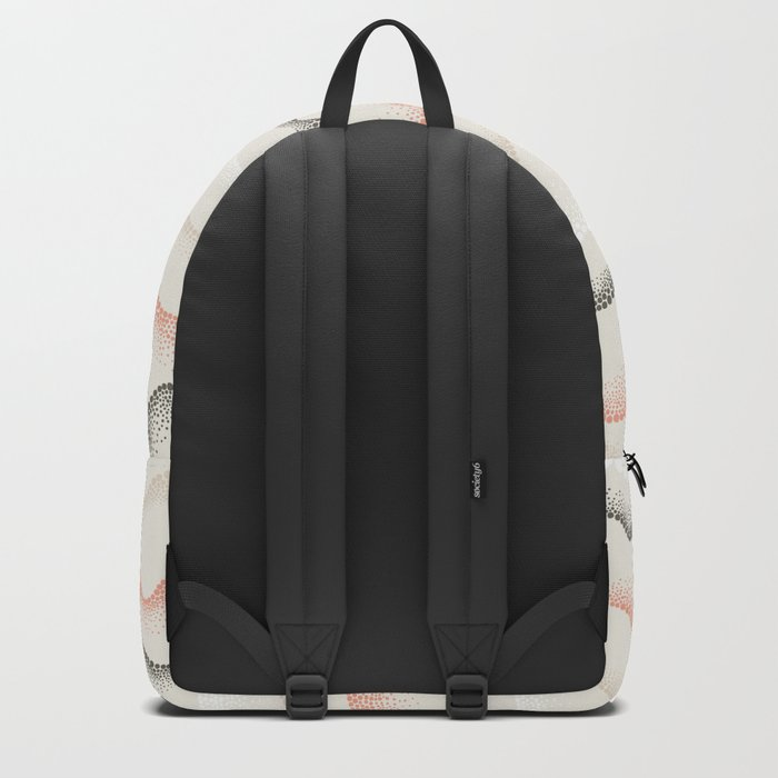 Retro Dotted Pattern 02 Backpack