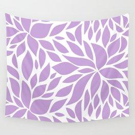 Bloom - Periwinkle Wall Tapestry