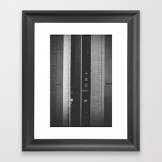 The space in-between Framed Art Print