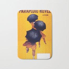Poster vintage french Parapluie Revel Bath Mat