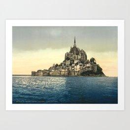 Mont Saint-Michel - Normandy, France Art Print