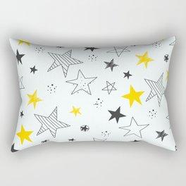 Many stars Rectangular Pillow