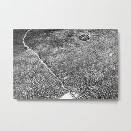 crack the water Metal Print
