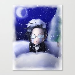 If You're Cold, They're Cold Canvas Print