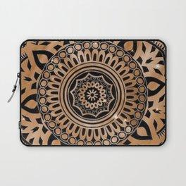 Golden Flower Laptop Sleeve