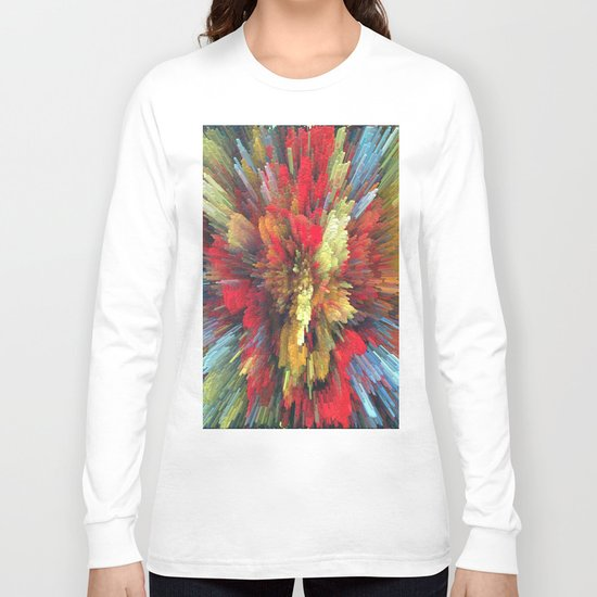 Abstract painting 101 Long Sleeve T-shirt