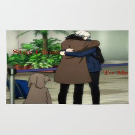 Stay Close To Me - Yuri On ice Rug