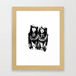 Sis Framed Art Print