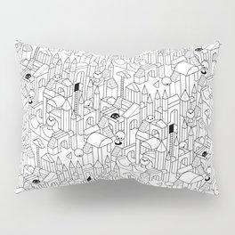 Little Escher's Building Blocks Pillow Sham