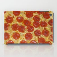 pizza iPad Cases featuring Pizza by Dani Mininancy