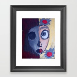 Two Sided Framed Art Print