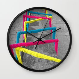 Noise Lines Wall Clock