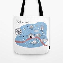 Mapping Melbourne - Original Tote Bag