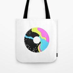 Iridescent donut Tote Bag